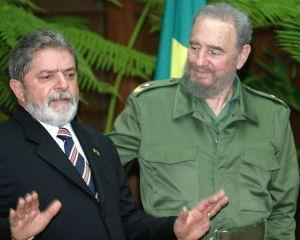 Lula e Fidel Castro (2003)